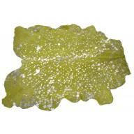 Tappeto Cavallino Acidato Verde Acido/Silver