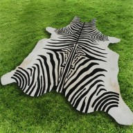 Tappeto Cavallino Stampato Zebra